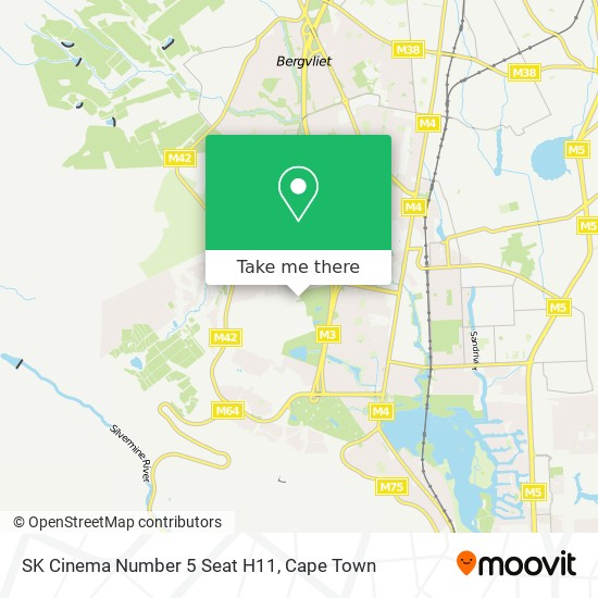 SK Cinema Number 5 Seat H11 map