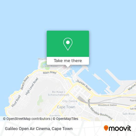 Galileo Open Air Cinema map