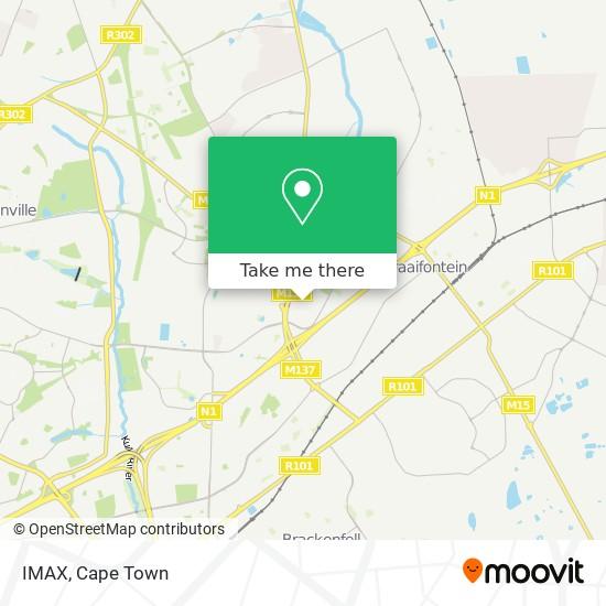 IMAX map