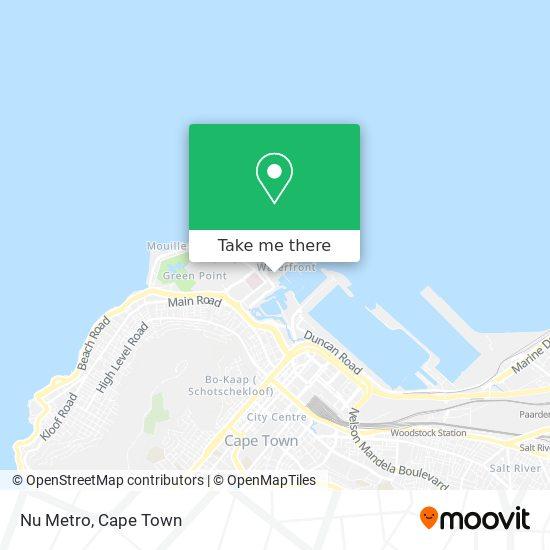 Nu Metro map