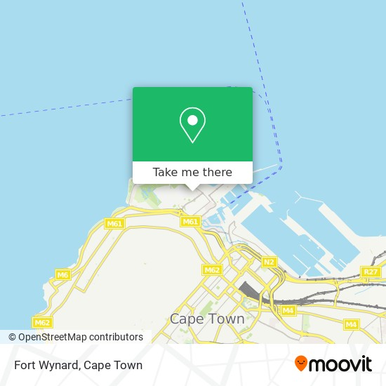 Fort Wynard map
