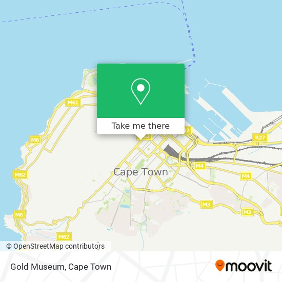 Gold Museum map