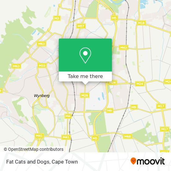 Fat Cats and Dogs map