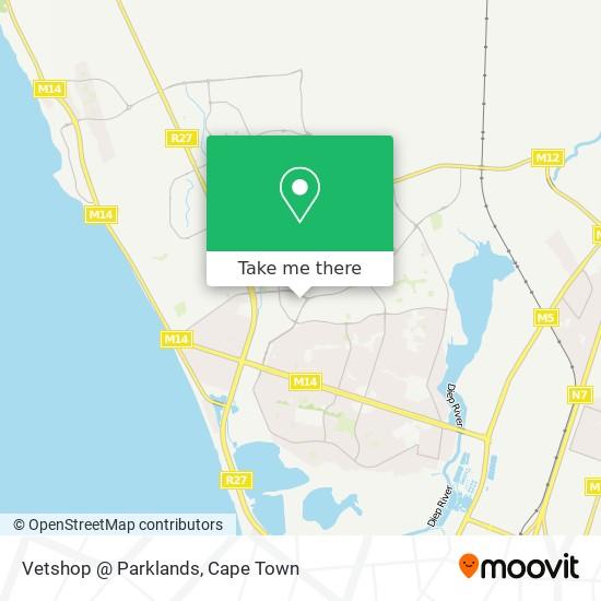 Vetshop @ Parklands map