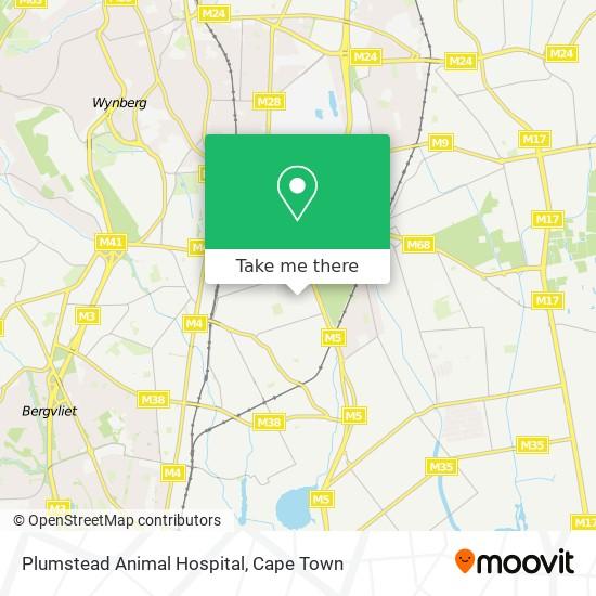 Plumstead Animal Hospital map