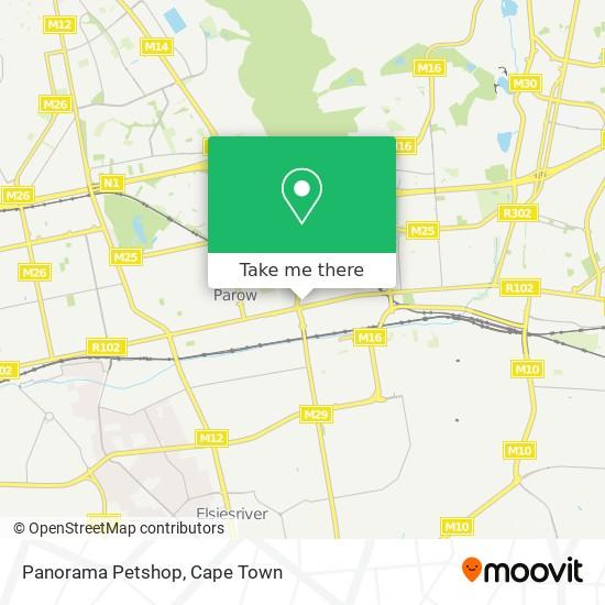 Panorama Petshop map