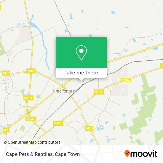 Cape Pets & Reptiles map