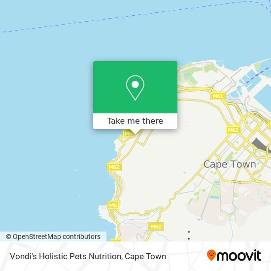 Vondi's Holistic Pets Nutrition map