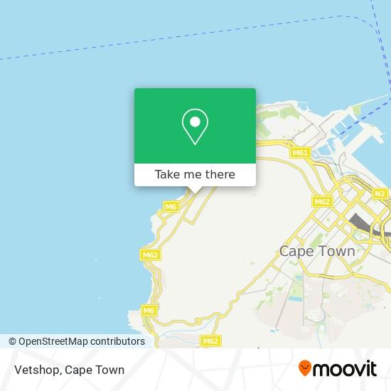 Vetshop map