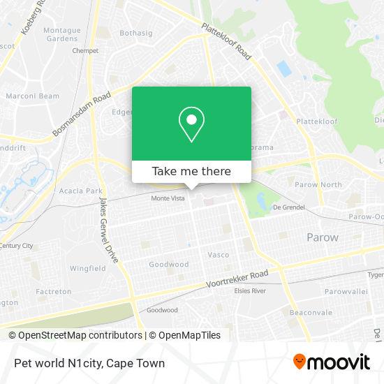 Pet world N1city map