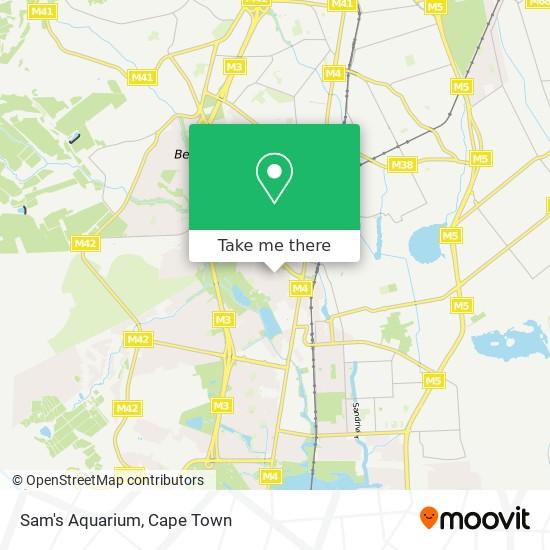 Sam's Aquarium map