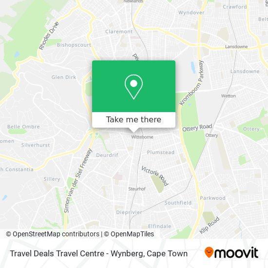 Travel Deals Travel Centre - Wynberg map