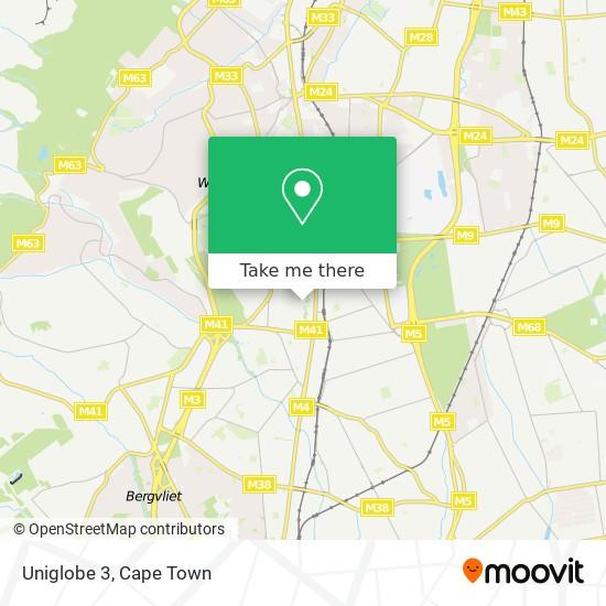 Uniglobe 3 map