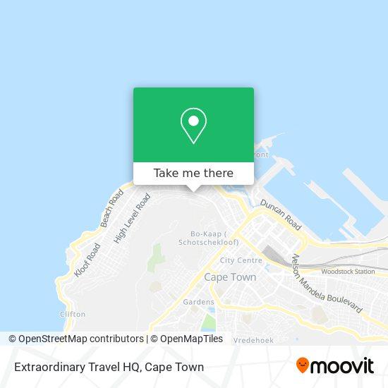 Extraordinary Travel HQ map
