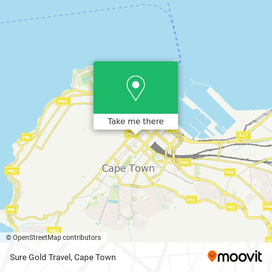 Sure Gold Travel map