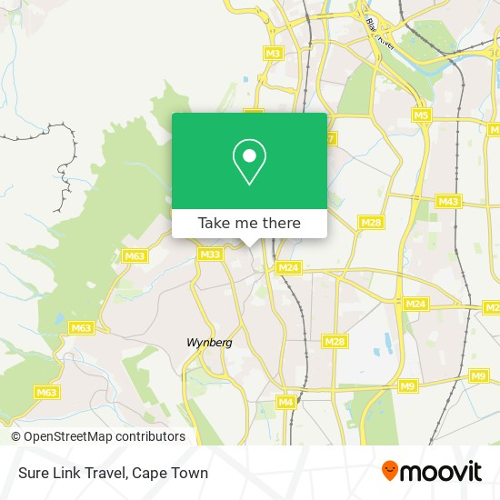 Sure Link Travel map