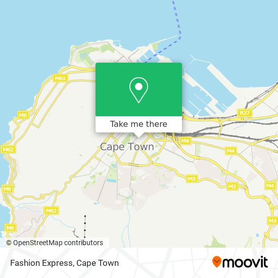 Fashion Express map