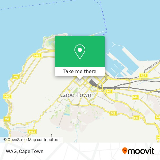 WAG map