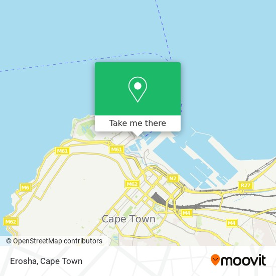Erosha map