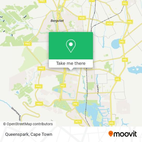 Queenspark map