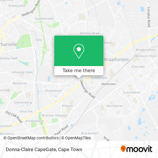 Donna-Claire CapeGate map