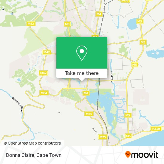 Donna Claire map