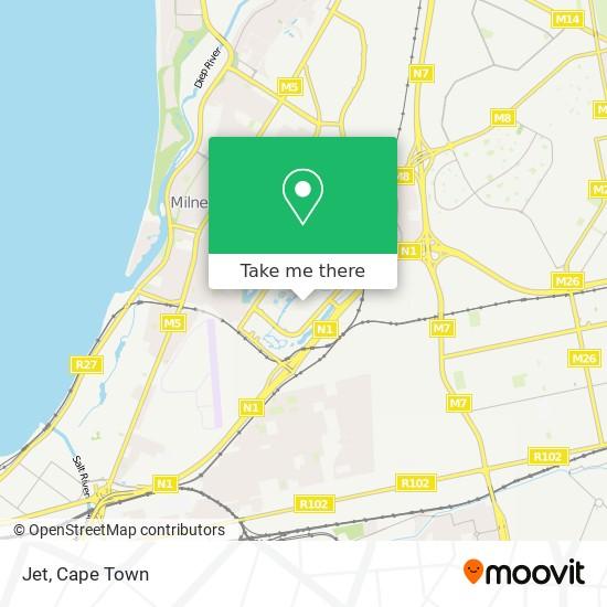 Jet map