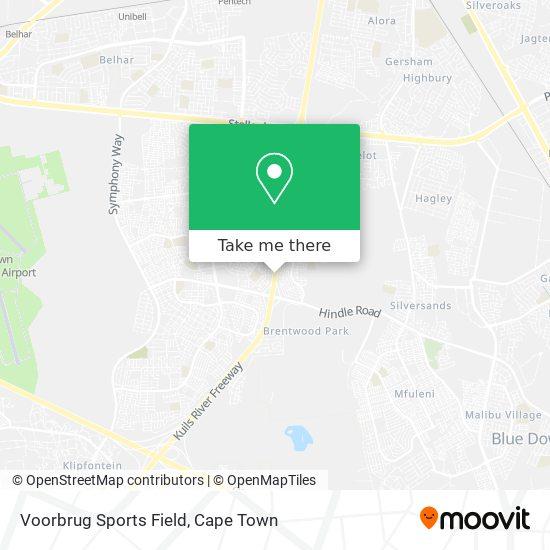 Voorbrug Sports Field map