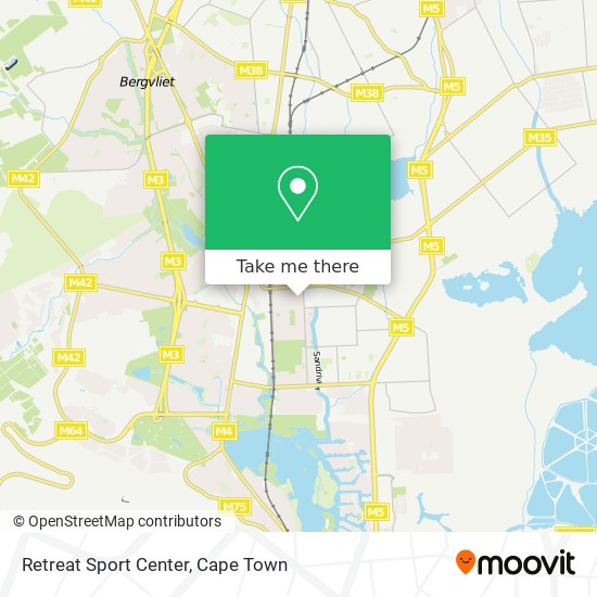 Retreat Sport Center map