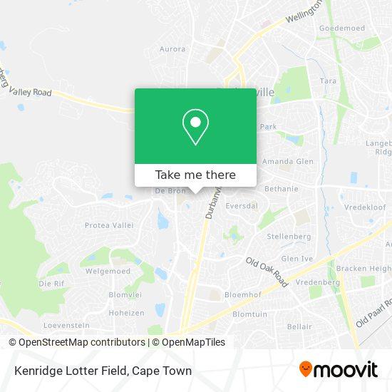 Kenridge Lotter Field map