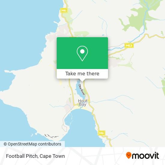 Football Pitch map
