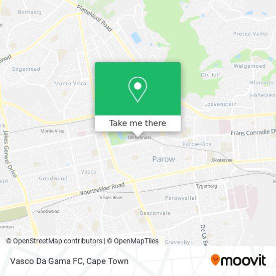 Vasco Da Gama FC map