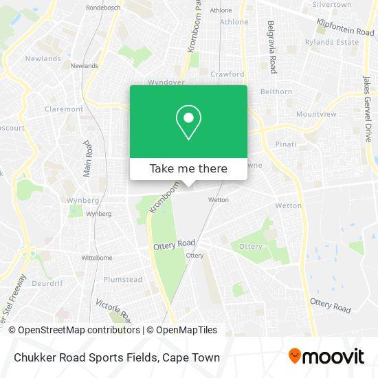 Chukker Road Sports Fields map