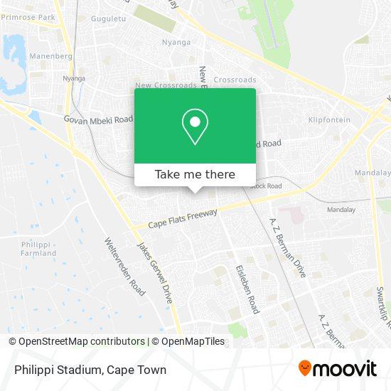 Philippi Stadium map
