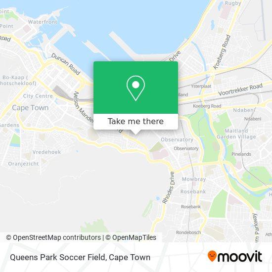 Queens Park Soccer Field map
