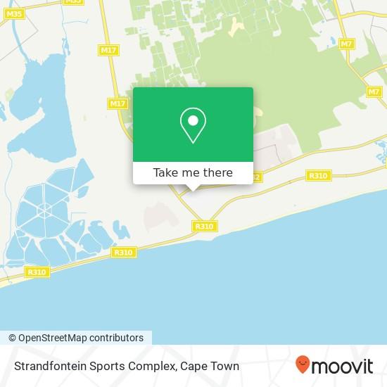 Strandfontein Sports Complex map