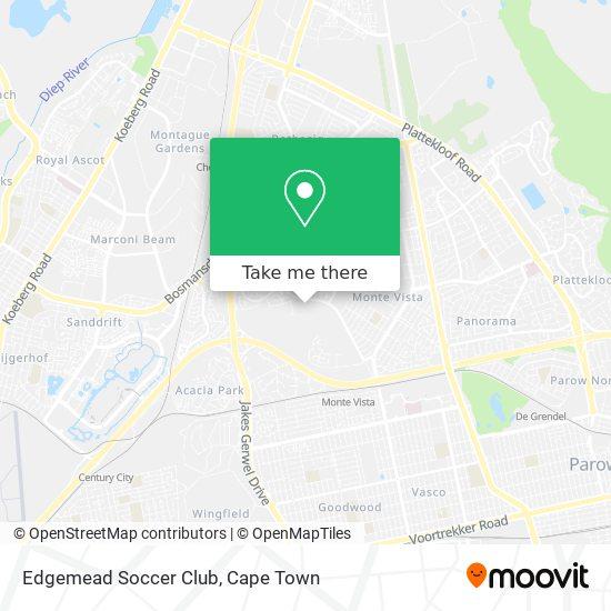 Edgemead Soccer Club map