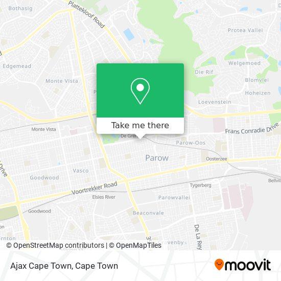 Ajax Cape Town map