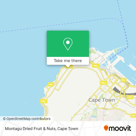 Montagu Dried Fruit & Nuts map