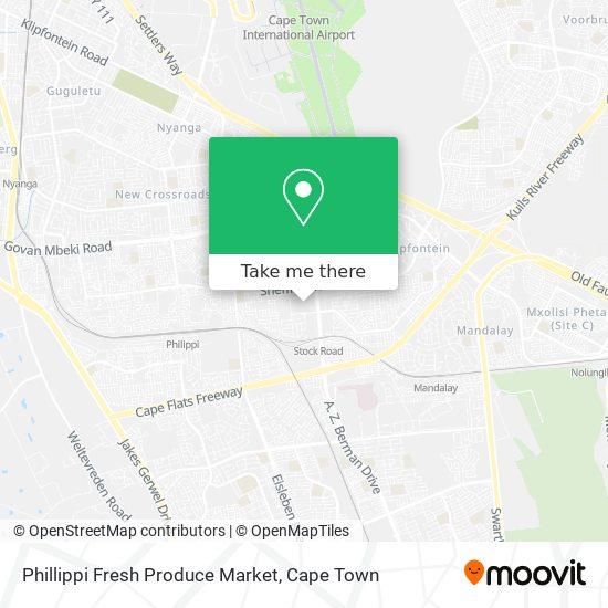 Phillippi Fresh Produce Market map