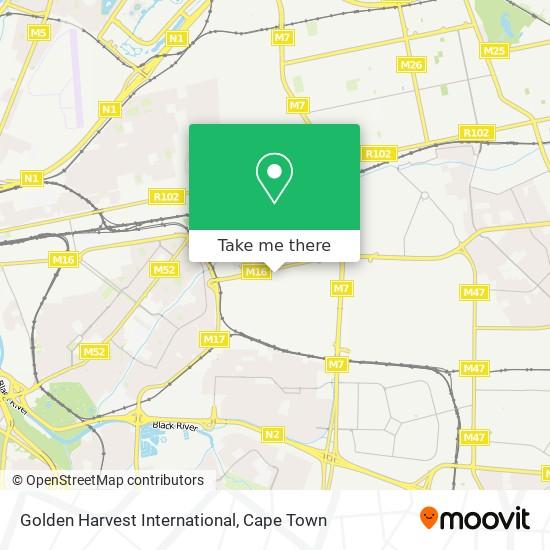 Golden Harvest International map