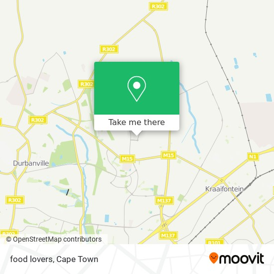 food lovers map