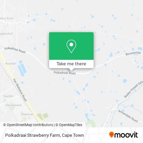 Polkadraai Strawberry Farm map