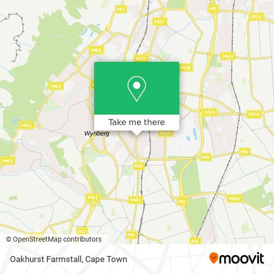 Oakhurst Farmstall map