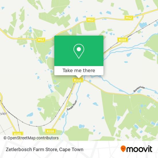 Zetlerbosch Farm Store map