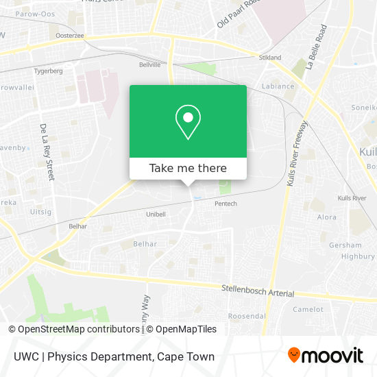 UWC   Physics Department map