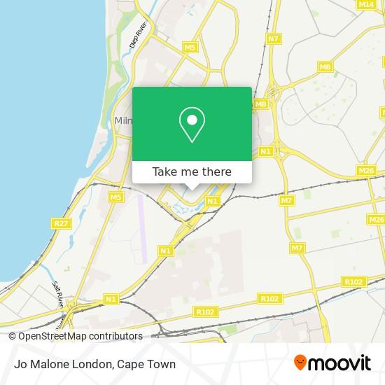Jo Malone London map