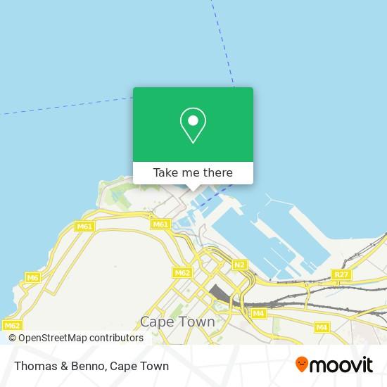 Thomas & Benno map