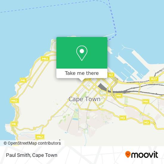 Paul Smith map