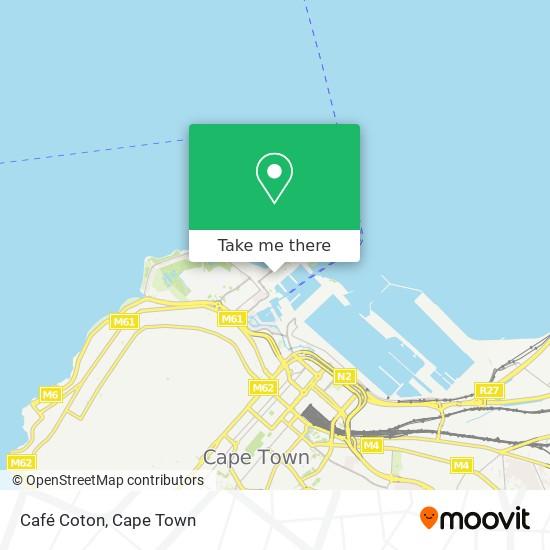 Café Coton map